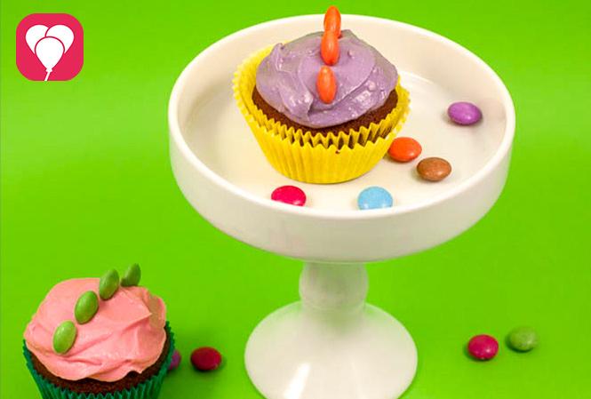 Dinosaurier Cupcakes