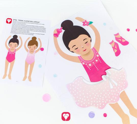 Ballerina Spiel - balloonas