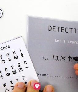 Detective Invitation - Code