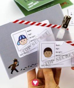 Detective Invitation - Detective ID