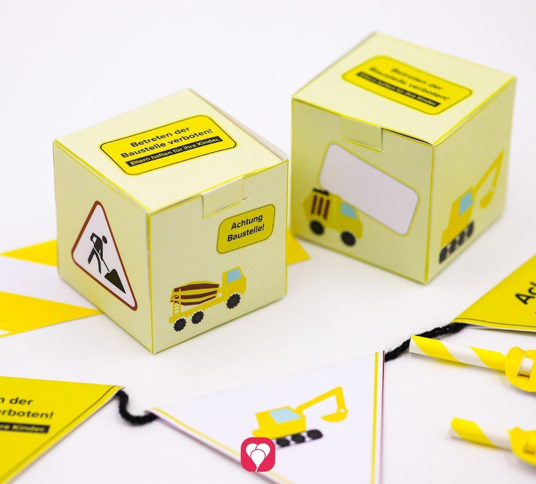 Coole Bauarbeiter Geschenkbox