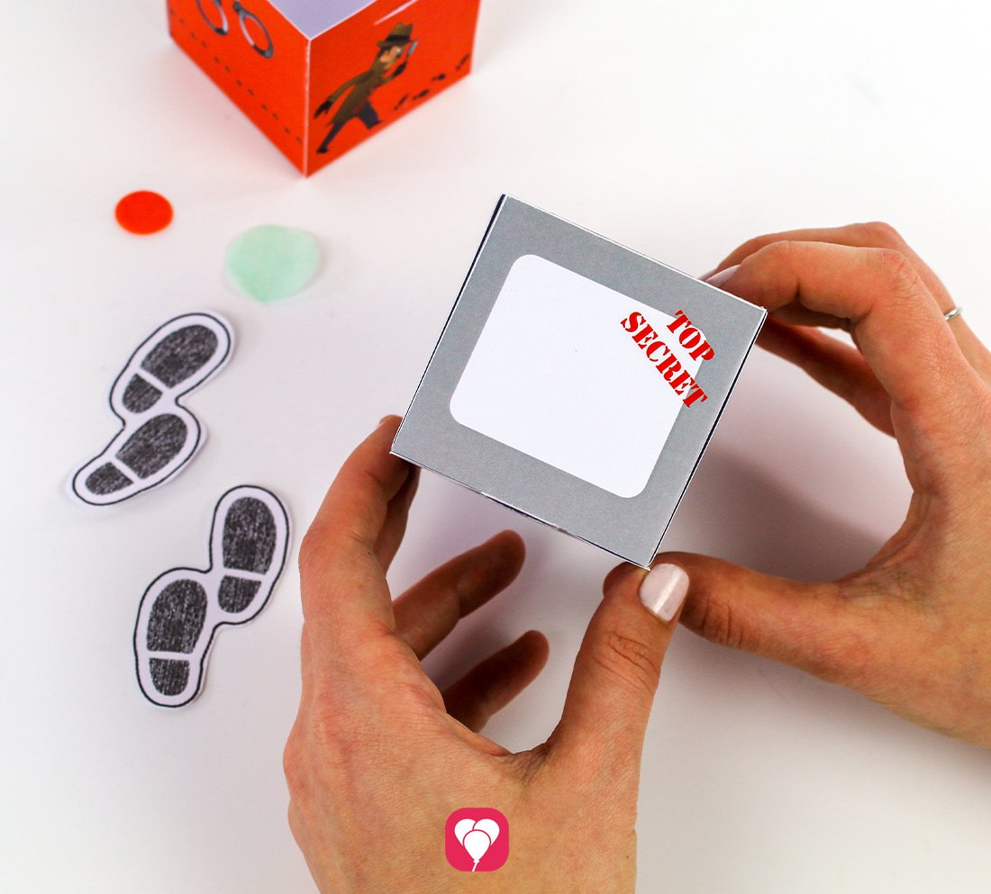 Praktische Geschenkbox