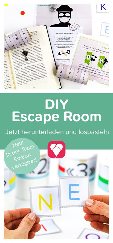 DIY Escape Room Team Edition Pinterest Pin