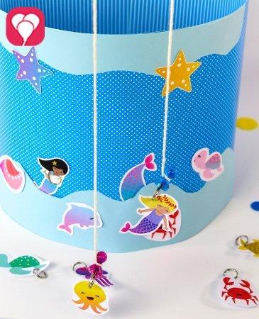 Meerjungfrau Angel Spiel selber machen - balloonas