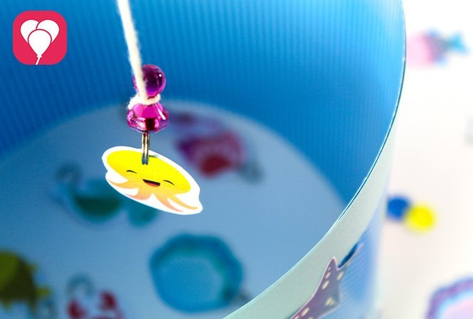 Meerjungfrau Angel Spiel selber machen - Meerestier geangelt