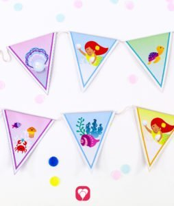 Meerjungfrau Geburtstagspaket - Girlande