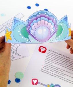 Meerjungfrau Spiel - Meerjungfrau Krönchen