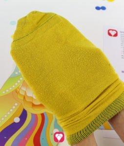 Meerjungfrau Spiel - Socke für die Flosse