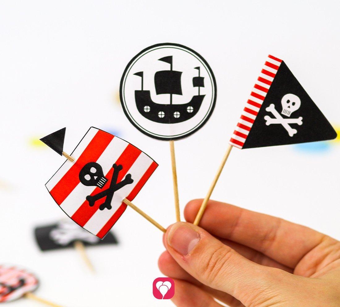 Piratenstarke Deko Picker