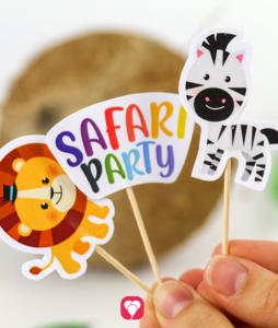Safari Deko Picker - Deine fertigen Picker