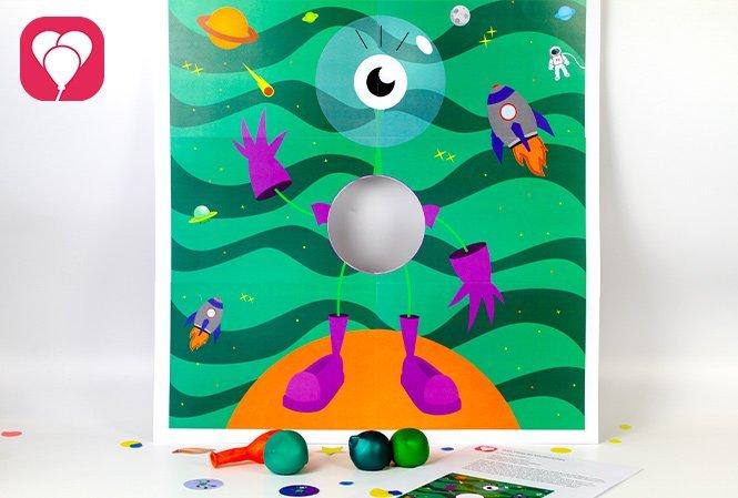 Weltraum Spiel -balloonas