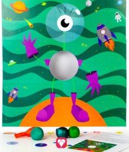 Weltraum Wurfspiel - balloonas