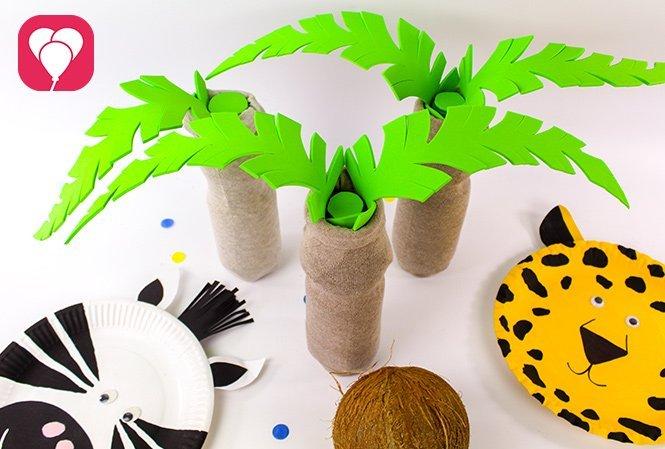 Partyspiele für Kinder im Sommer - Kokosnuss Kegeln