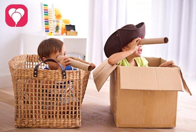 Partyspiele für Kinder im Sommer - Piratenschatzsuche