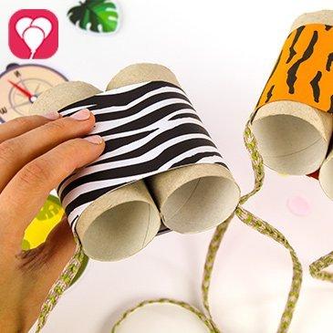 DIY Safari Fernglas basteln - balloonas