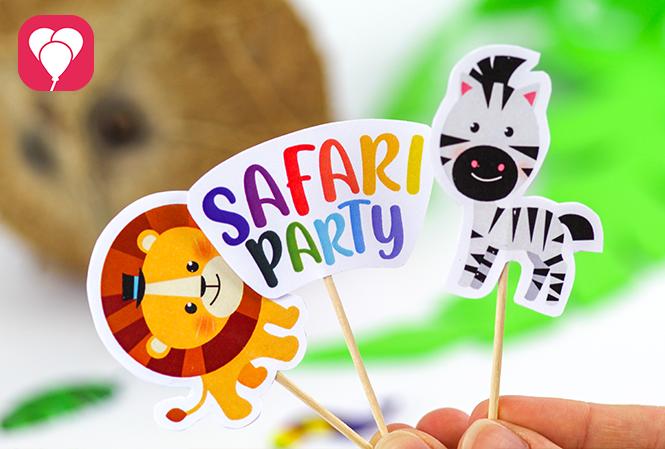 Safari Memory Spiel - Deko Picker