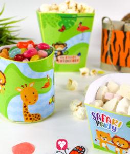 Safari Candy Bar - gefüllt