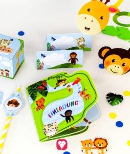 Safari Geburtstagspaket - balloonas