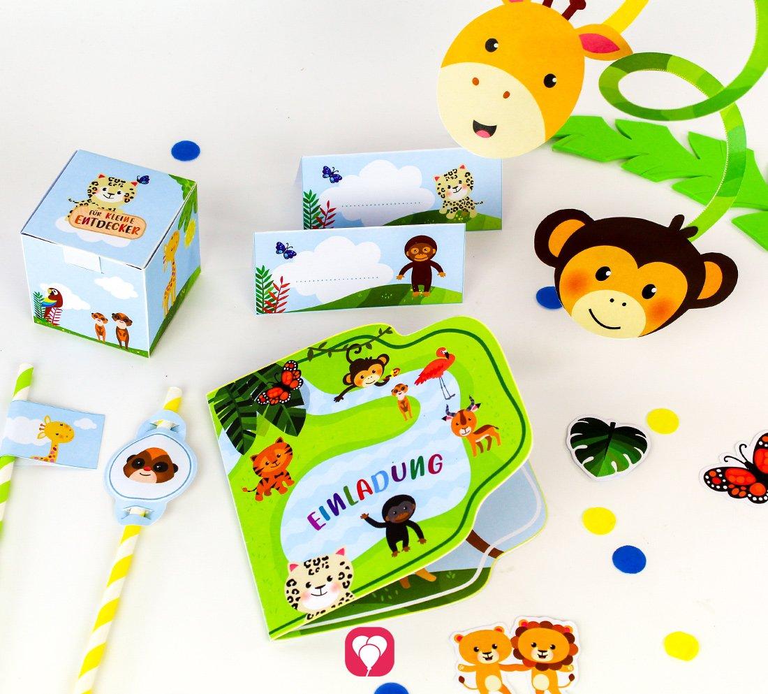 Safari Geburtstagspaket