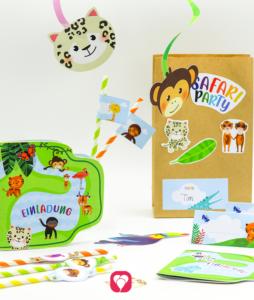 Safari Geburtstagspaket Basic - balloonas