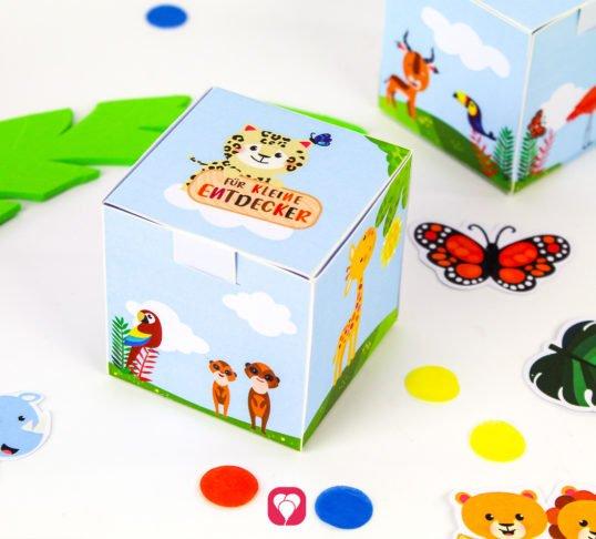 Safari Geschenkbox -balloonas