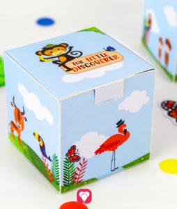 Safari Gift Box - balloonas