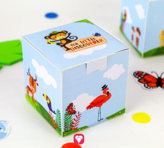 Safari Gift Box - balloonas