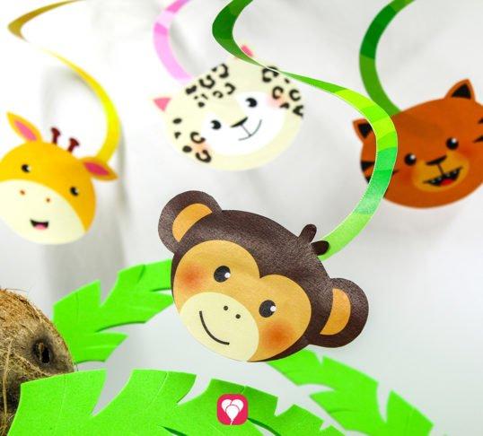 Safari Spiralgirlande - balloonas