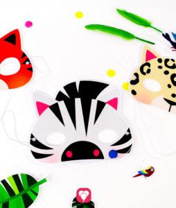 Safari Photo Booth - animal masks