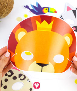 Safari Photo Booth - Lion