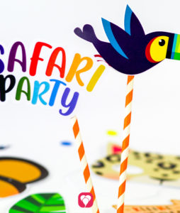 Safari Photo Booth - balloonas