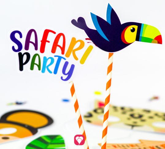 Safari Photo Booth - balloonas