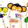 Safari Photo Booth - viele verschiedene Motive