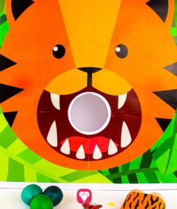 Safari Wurfspiel - Tiger