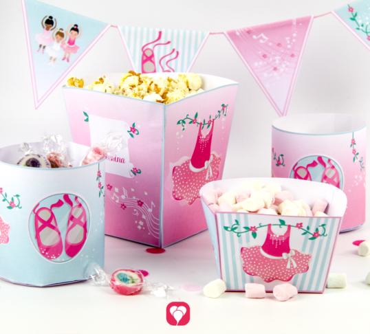 Ballerina Candy Bar - balloonas