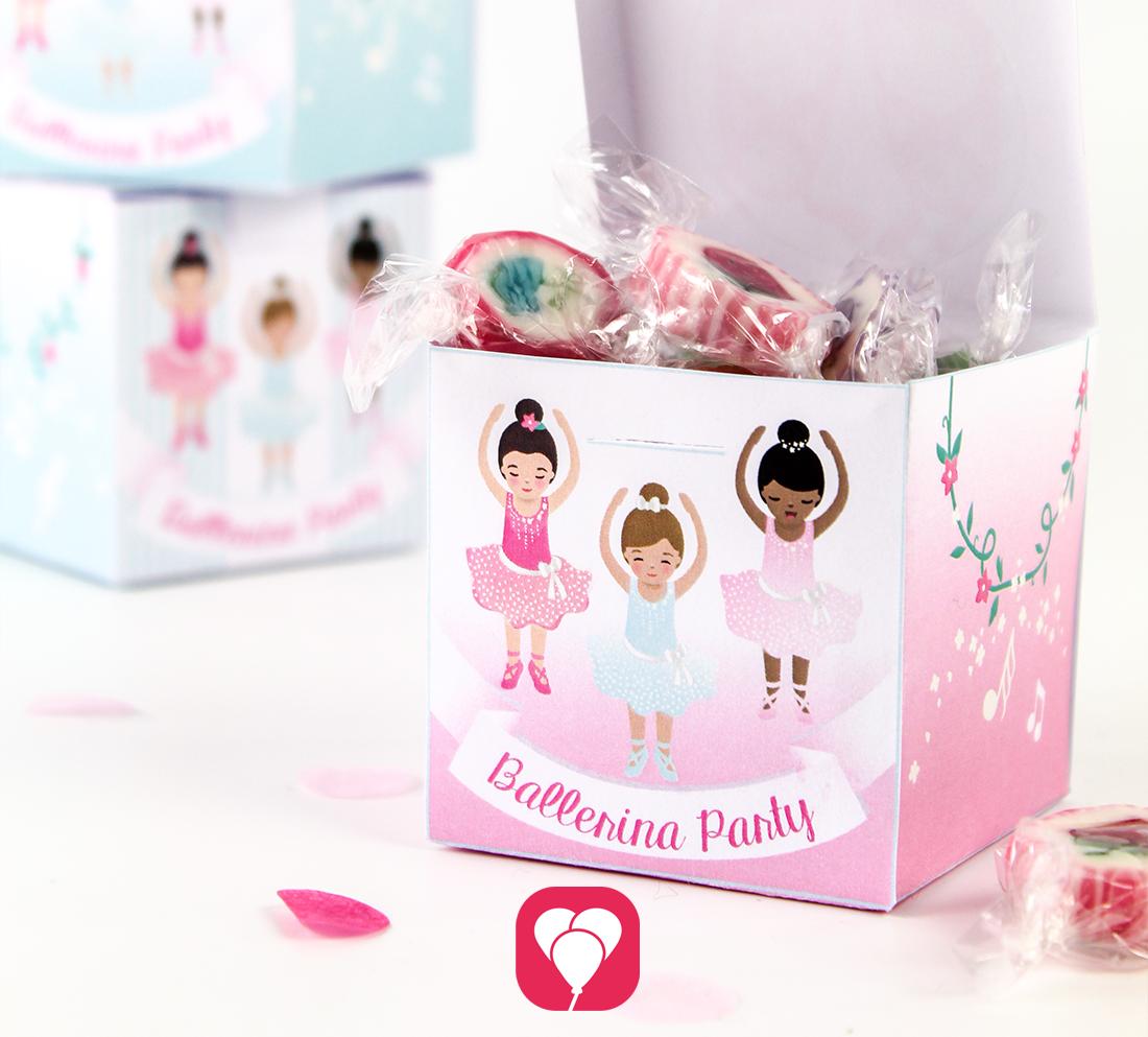 Praktische Ballerina Geschenkboxen