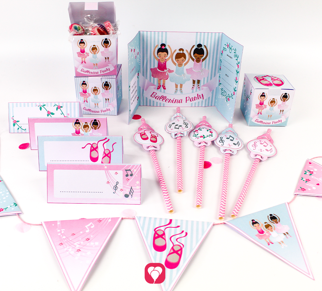 Ballerina Geburtstagspaket - Basic