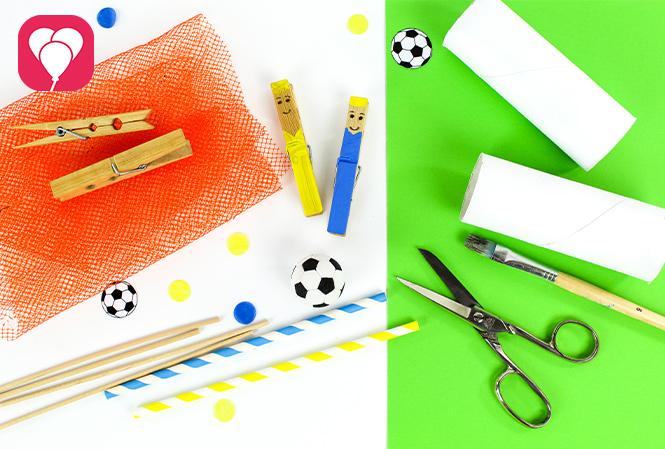 DIY Kicker Spiel - das brauchst Du