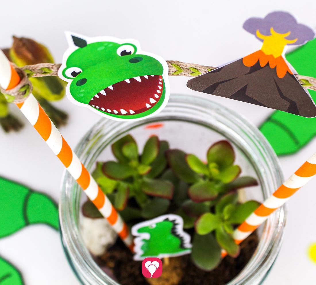 Dinosaurier im Glas