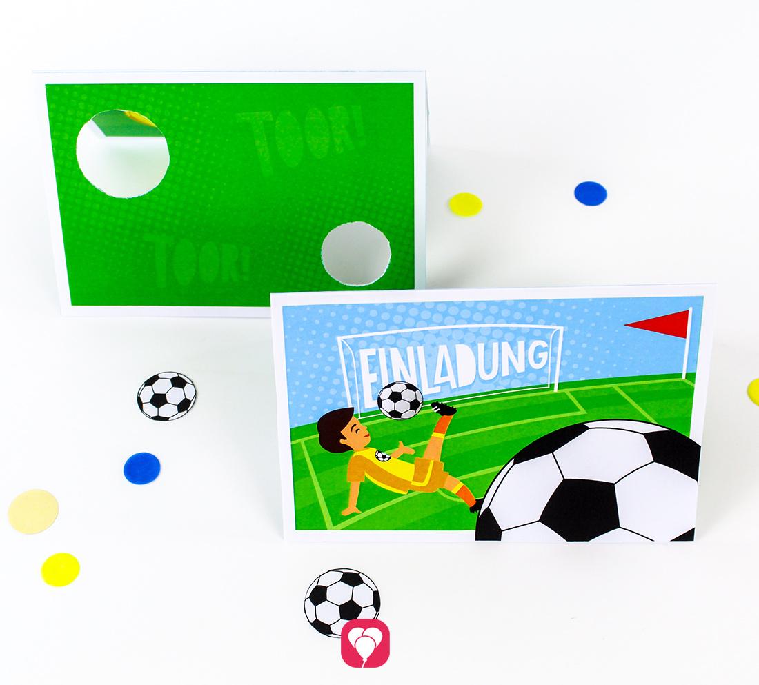 Fussball Einladung