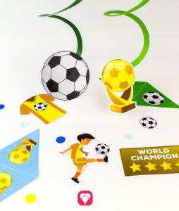 Fußball Girlande - balloonas