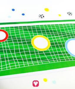 Fußball Torwand Spiel - Torwand