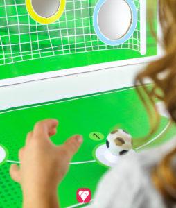 Soccer Goal Wall Game - balloonas