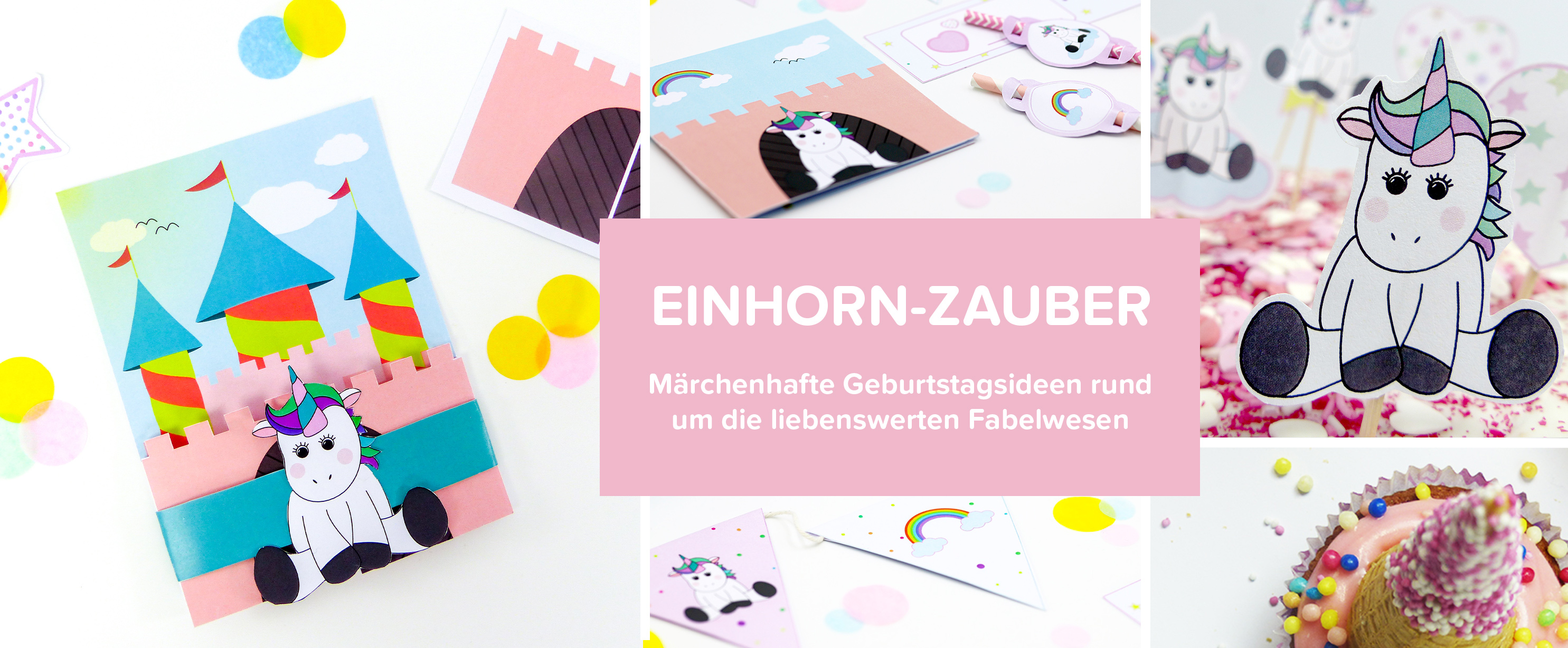 Einhorn header Blog