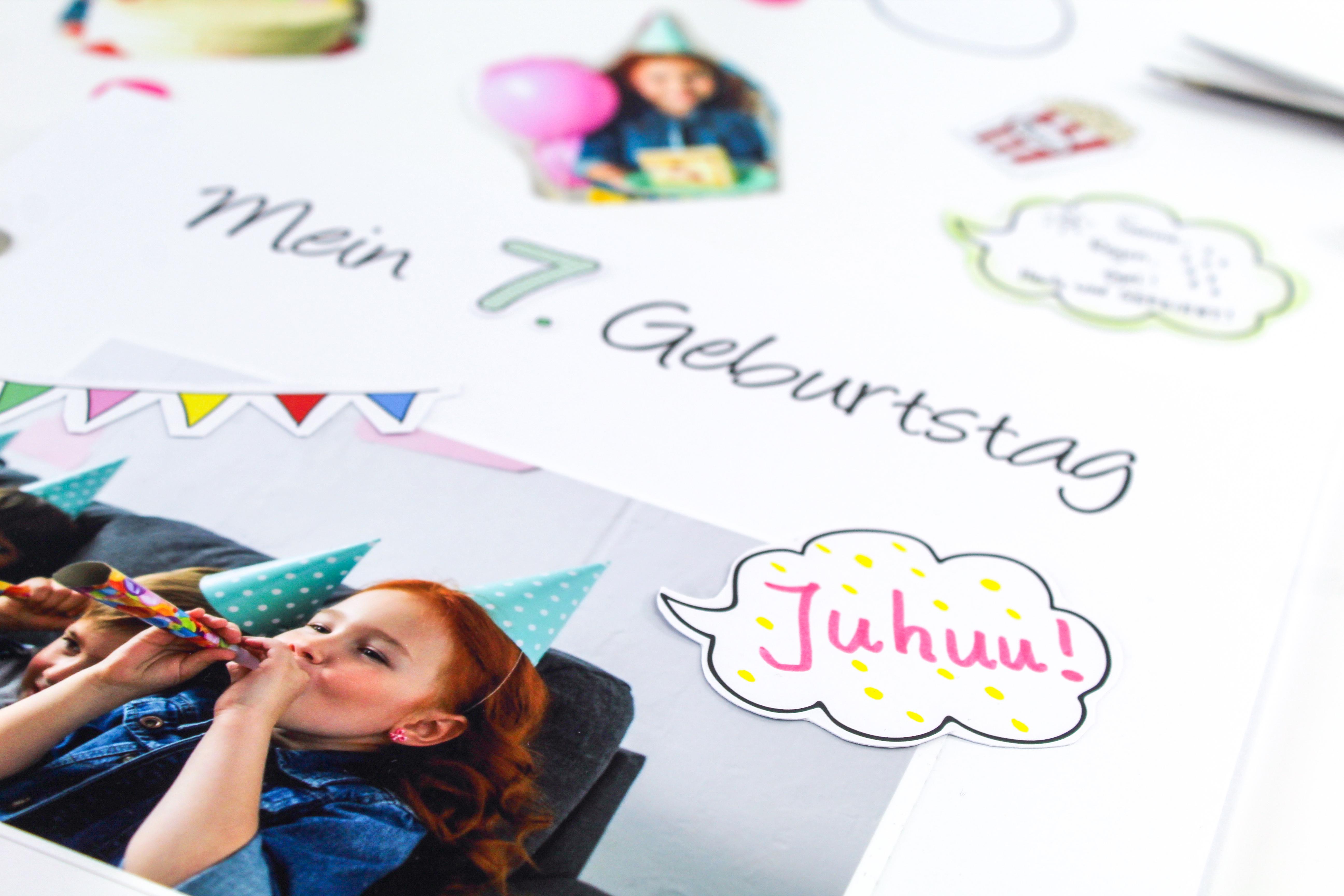 balloonas Geburtstagsbuch - Sticker