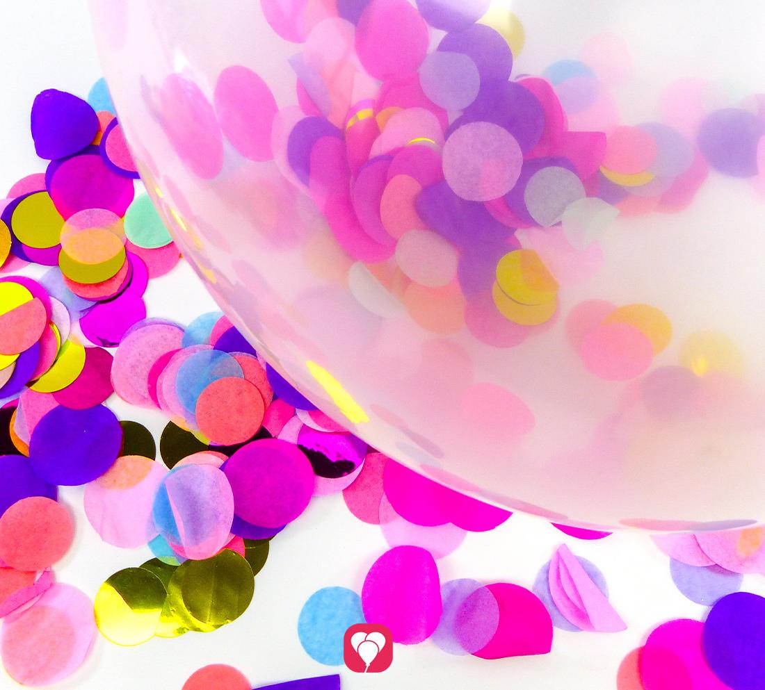 DIY Konfetti Ballons