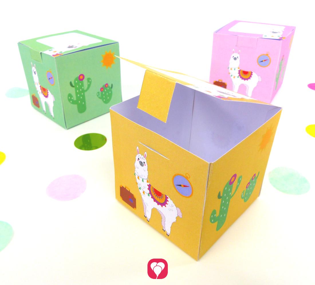 Lama Geschenkbox