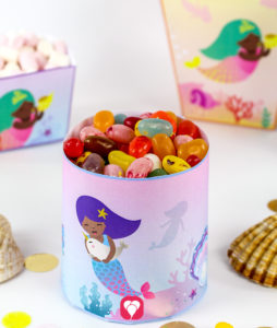 Mermaid Candy Bar - balloonas