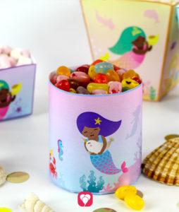 Meerjungfrau Candy Bar - balloonas