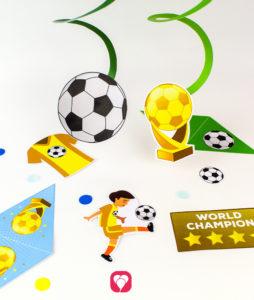 Soccer Garland - balloonas